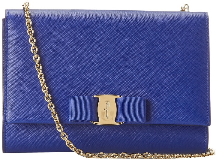 dbe03897d6eb Salvatore Ferragamo B558 Miss Vara Mini Bag Cross Body Handbags ...