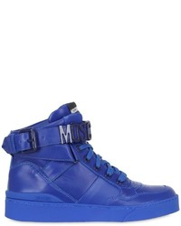 Moschino 35mm leather high top sneakers medium 736618