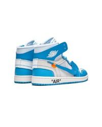 ... Off-White Nike X Air Jordan 1 Sneakers 6b7a9dcb9