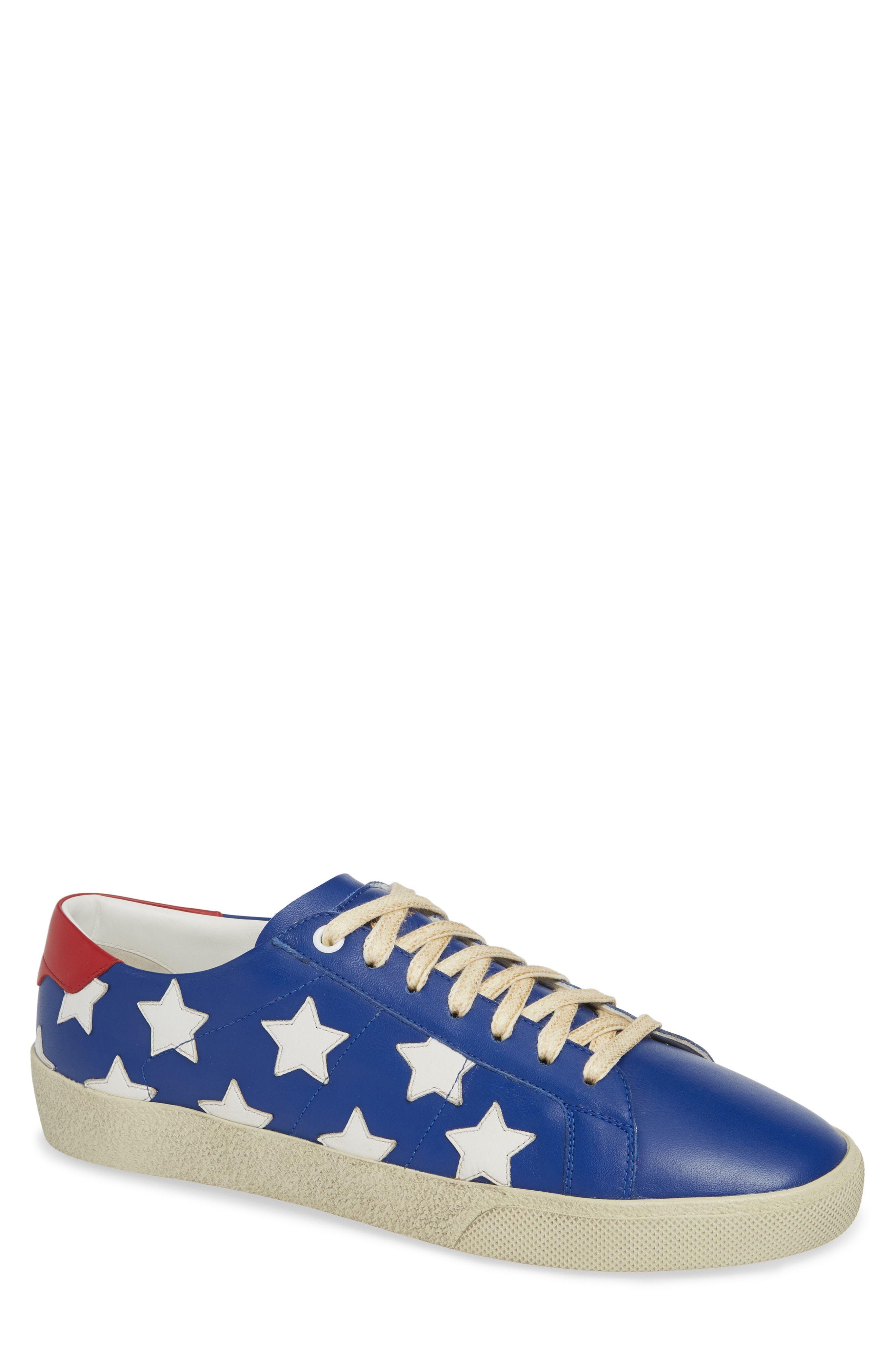 5187b6d34eb Saint Laurent Star Low Top Sneaker, $545 | Nordstrom | Lookastic.com