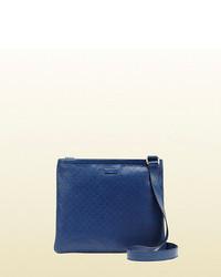 Gucci bright diamante leather messenger bag medium 85070