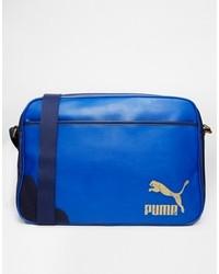 Puma Originals Messenger Bag Blue