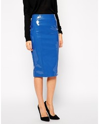 Asos Pencil Skirt In Patent Pu | Where to buy & how to wear