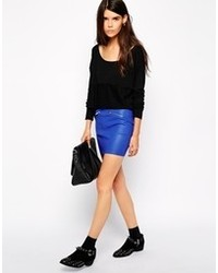 Nl leather skirt medium 93485