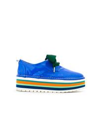 Marsèll Stripe Platform Shoes