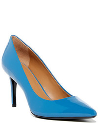 Calvin Klein Gayle Patent Leather Pointed Toe Pump