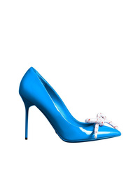 Burberry Rope Detail Patent Leather Pumps