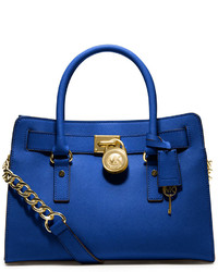 MICHAEL Michael Kors Michl Michl Kors Studio Hamilton Saffiano Leather East West Satchel