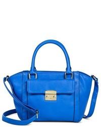 Merona Mini Satchel Faux Leather Handbag