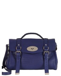 Mulberry Alexa Shrunken Leather Satchel