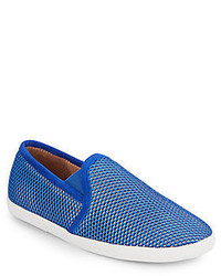 Joie Kidmore Laser Cut Leather Slip On Sneakers