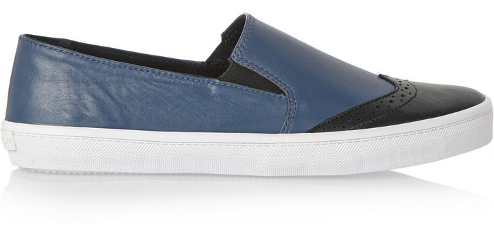 Rebecca Minkoff Sammy Leather Slip On Sneakers