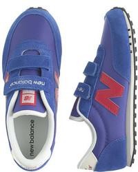 J.Crew Kids New Balance For Crewcuts Ke410 Velcro Sneakers In Bright Blue