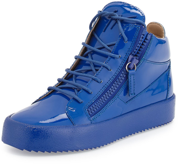 Giuseppe Zanotti Patent Leather Mid Top
