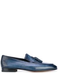 Santoni Fringed Loafers