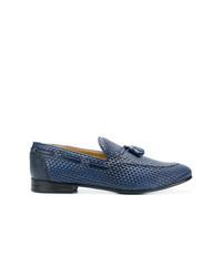 BRIMARTS Woven Tassel Loafers