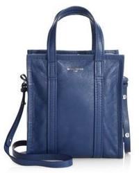 Balenciaga Bazar Shopper Arena Small Leather Tote Bag