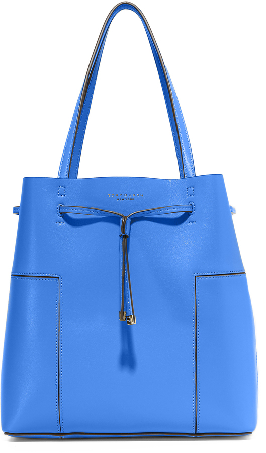 ab3582c0698 ... Tory Burch Block T Bucket Tote ...