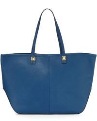 Rebecca Minkoff Everywhere Leather Tote Bag Navy