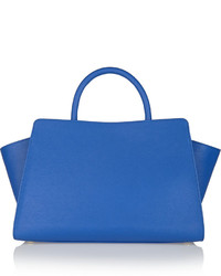 Zac Posen Zac Eartha East West Textured Leather Tote