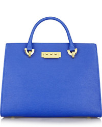 Zac Posen Zac Eartha Textured Leather Tote