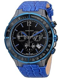 Versace 28ccb8d082 S282 Dv Watch With Leather Band