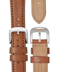 Shinola Bolt Stainless Steel Analog Leather Strap Watch