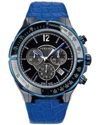 Versace Watch Unisex Swiss Chronograph Dv One Cruise Blue Calfskin Leather Strap 44mm 28ccb8d082 S282