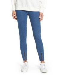 Nordstrom Ankle Zip Denim Leggings