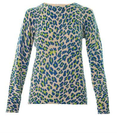 Equipment Shane Leopard Print Cashmere Sweater | Where to buy ...