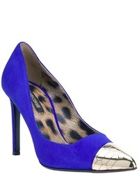 Roberto cavalli cap toe pump medium 4758