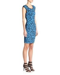 Reversible leopard print sheath medium 352636