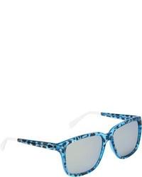 Sheriff cherry leopard sunglasses medium 118662