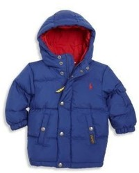 Ralph Lauren Babys Hooded Down Puffer Jacket