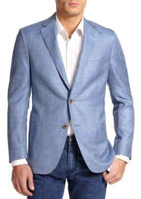 Saks Fifth Avenue Collection Samuelsohn Textured Linen Sportcoat ...