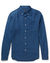 J.Crew Button Down Collar Linen Shirt