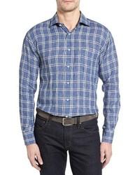 Robert Talbott Estate Classic Fit Linen Sport Shirt
