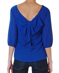 Bow back blouse medium 348218