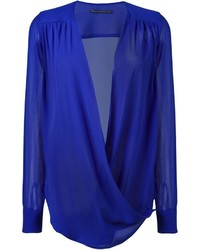 Ermanno Scervino Draped Front Blouse