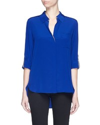 Diane von Furstenberg Lorelei Two Silk Georgette Blouse