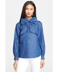 Kate Spade New York Chambray Blouse