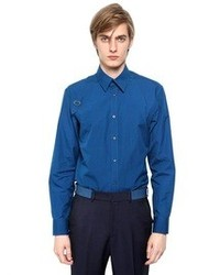 Alexander McQueen Stretch Cotton Poplin Harness Shirt
