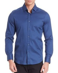 Robert Graham Baylor Textured Button Down Shirt