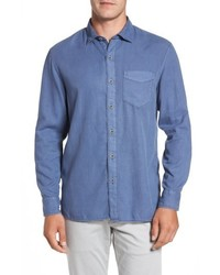 Tommy Bahama Big Tall Dobby Dylan Sport Shirt