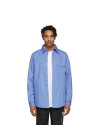 GR10K Blue Antistatic Shirt
