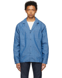 Levi's Made & Crafted Blue Pkt Camp Shirt