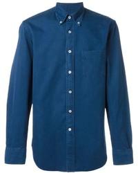 Canali Button Down Collar Shirt