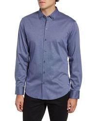 Zachary Prell Carr Regular Fit Dobby Shirt
