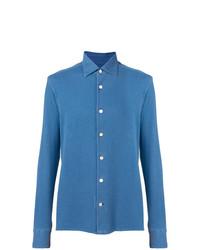 Kiton Classic Denim Shirt