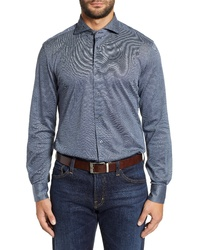 Corneliani Classic Fit Solid Sport Shirt